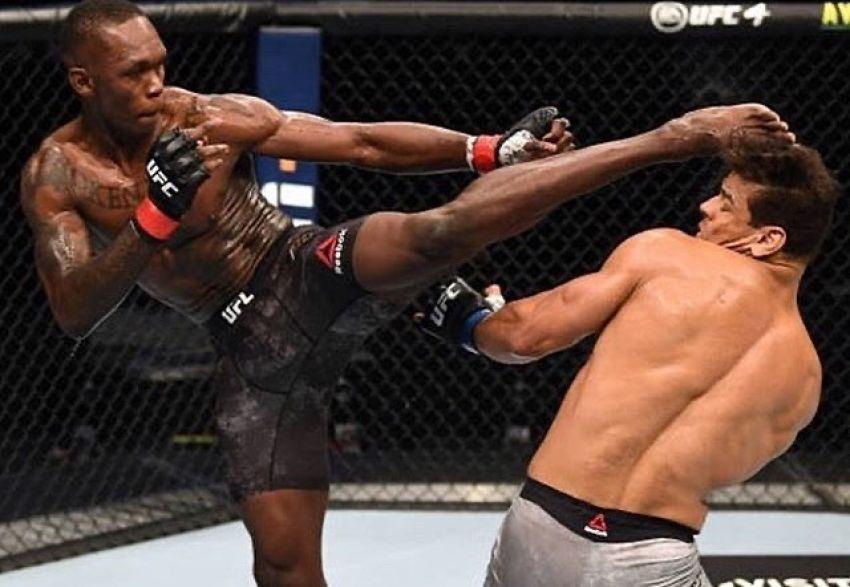 Исраэль Адесанья без труда остановил Пауло Косту на UFC 253, во второй раз защитив титул среднего веса