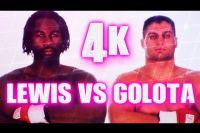 Яркие моменты боя Леннокс Льюис - Анджей Голота в 4K