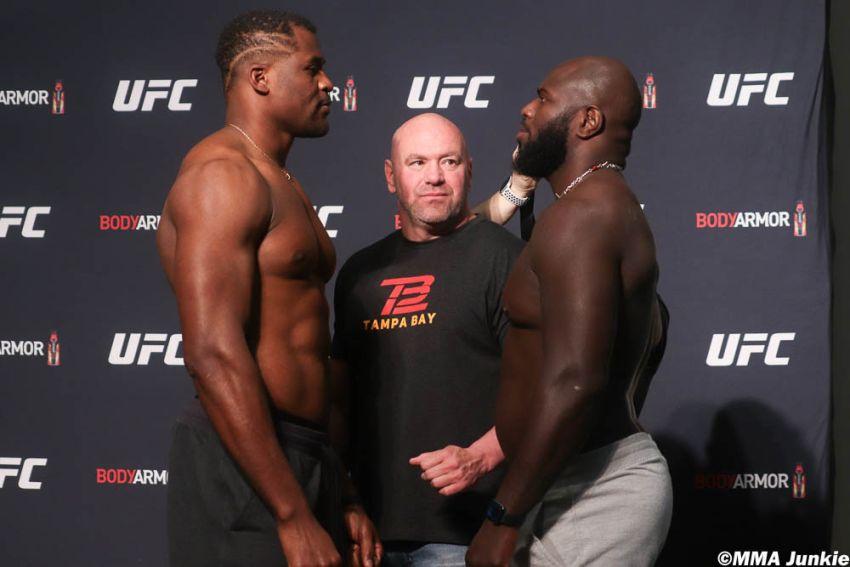 Видео боя Фрэнсис Нганну - Жаирзиньо Розенструйк UFC 249