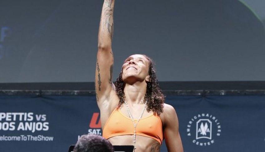 Жермейн Де Рандами мечтала о быстром нокауте в преддверии UFC on ESPN+ 13