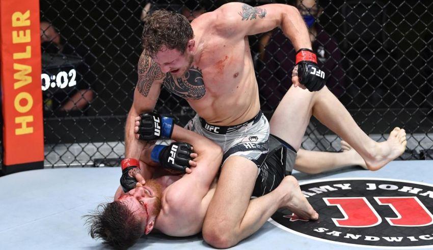 Джек Херманссон хочет драться с бойцами из топ-5 среднего веса UFC