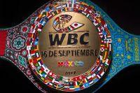 Пояс WBC, который разыграется 16 сентября между Альваресом и Головкиным.