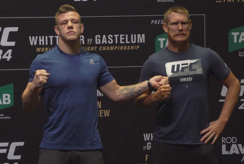 Битва взглядов участников турнира UFC 234