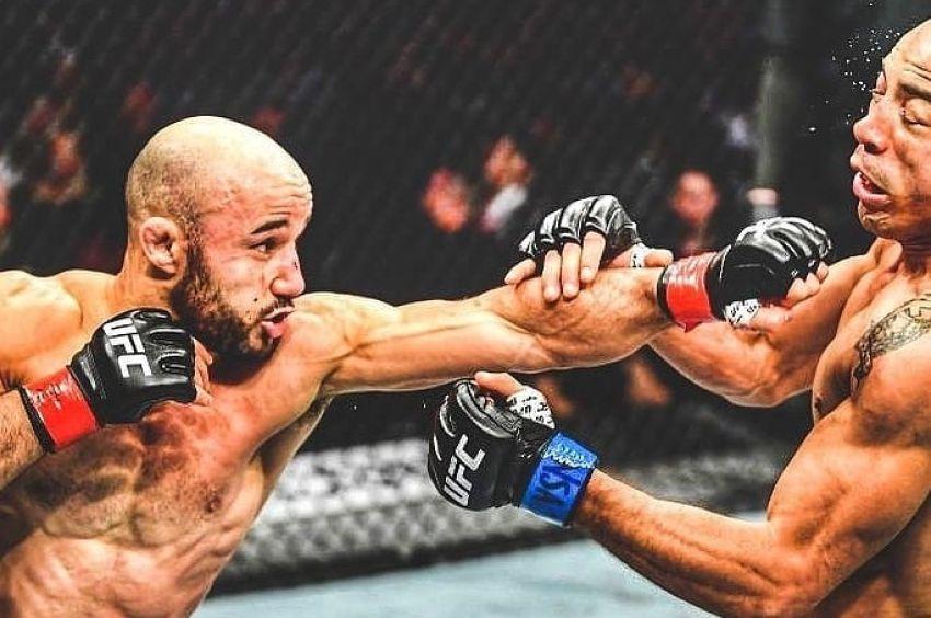 Марлон Мораес одолел Жозе Альдо в близком поединке на UFC 245