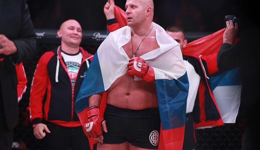 Федор Емельяненко прокомментировал подписание нового контракта с Bellator