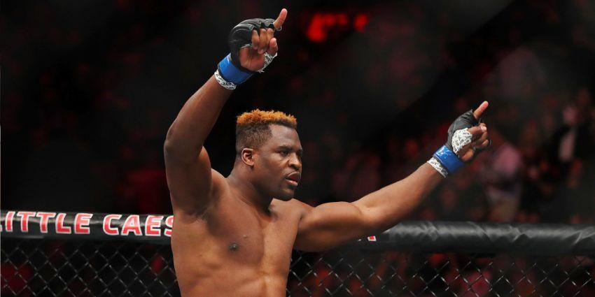 Фрэнсис Нганну снес Джуниора Дос Сантоса уже в первом раунде на UFC on ESPN 3
