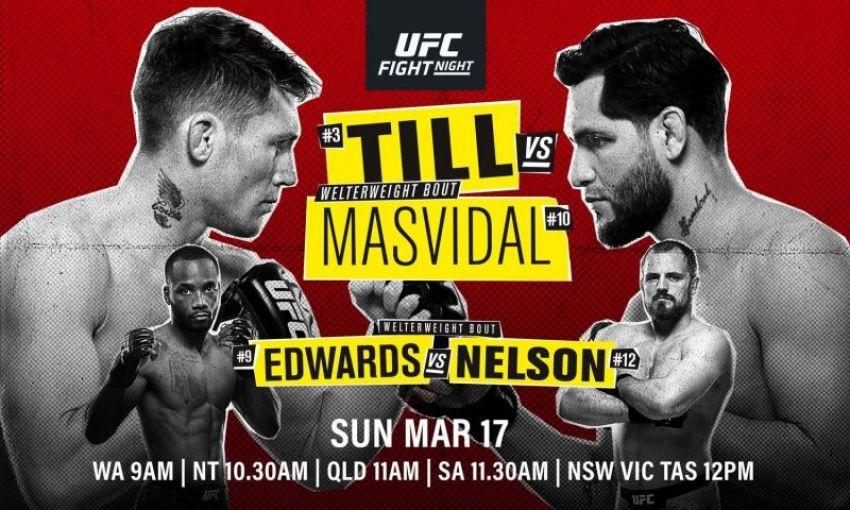 Котировки букмекеров на турнир UFC Fight Night 147