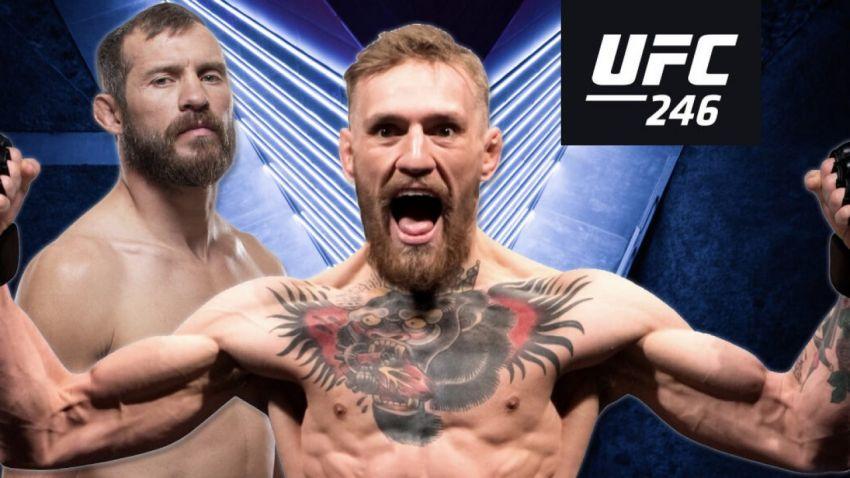 Где смотреть UFC 246: Конор МакГрегор - Дональд Серроне