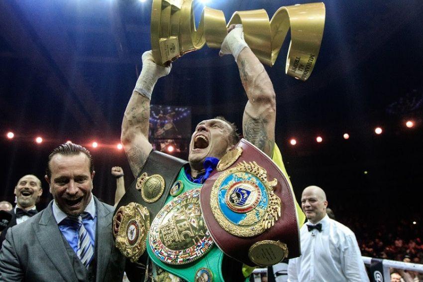 Обращение WBA по ситуации вокруг титула Александра Усика