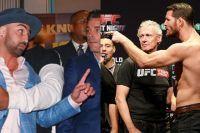 Майкл Биспинг не оценил наряд Малиньяджи на пресс-конференции в Нью-Йорке