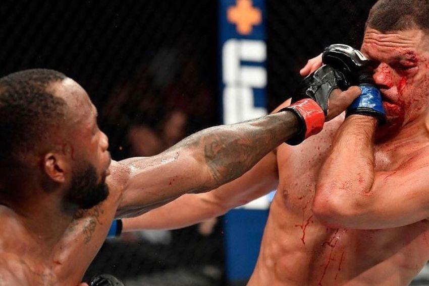 Леон Эдвардс одержал непростую победу над Нейтом Диасом на UFC 263