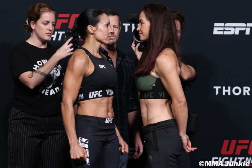 Видео боя Миша Тейт - Марион Рено UFC on ESPN 26