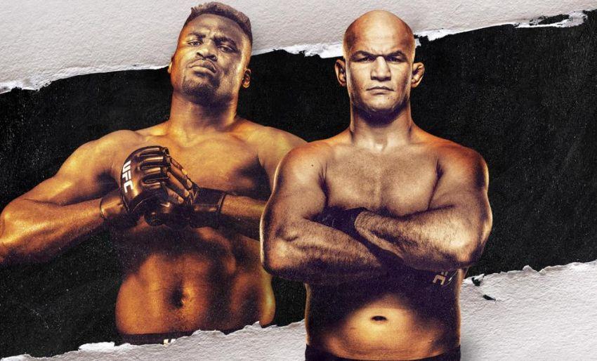 Прямая трансляция UFC on ESPN 3: Фрэнсис Нганну - Джуниор Дос Сантос