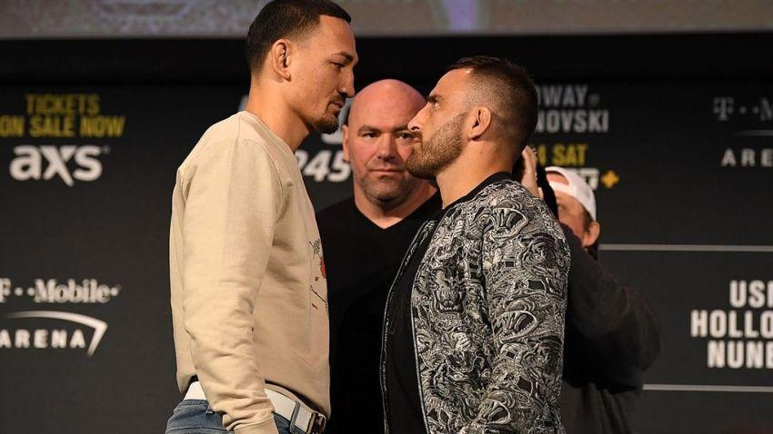 Алекс Волкановски планирует отправить Макса Холлоуэя в легкий дивизион после UFC 245
