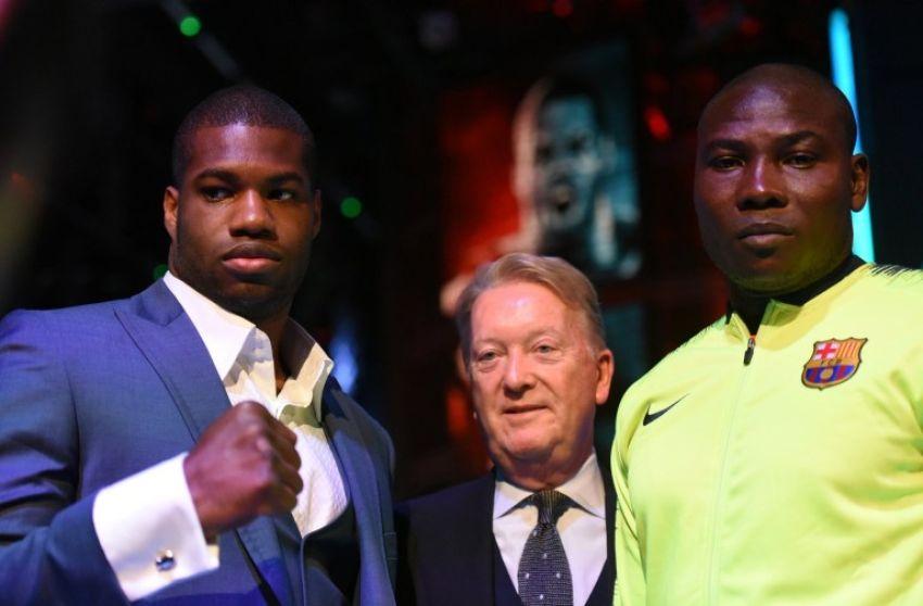 Фрэнк Уоррен считает, что Даниэль Дюбуа станет боксером уровня Льюиса и Фьюри