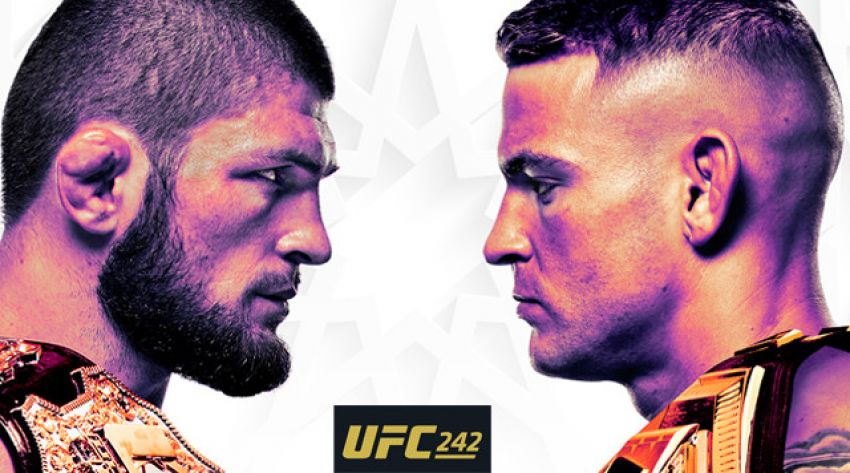 Файткард турнира UFC 242: Хабиб Нурмагомедов - Дастин Порье