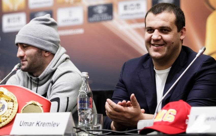 Умар Кремлев договаривается о проведении боев в казино Сочи с участием Мурата Гассиева