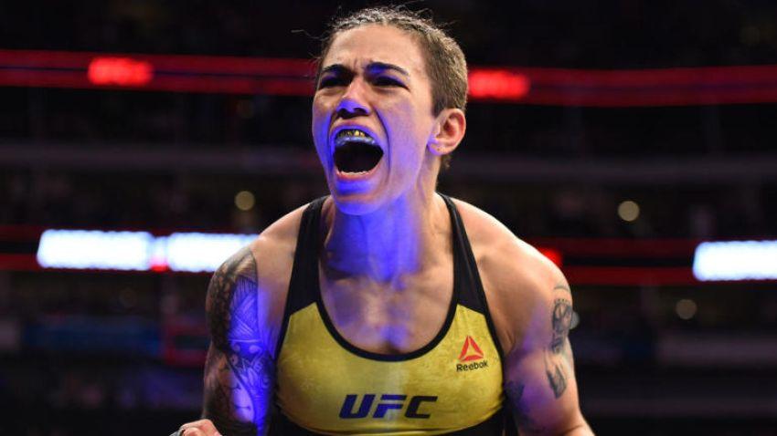Джессика Андраде отобрала титул у Роуз Намаюнас на UFC 237