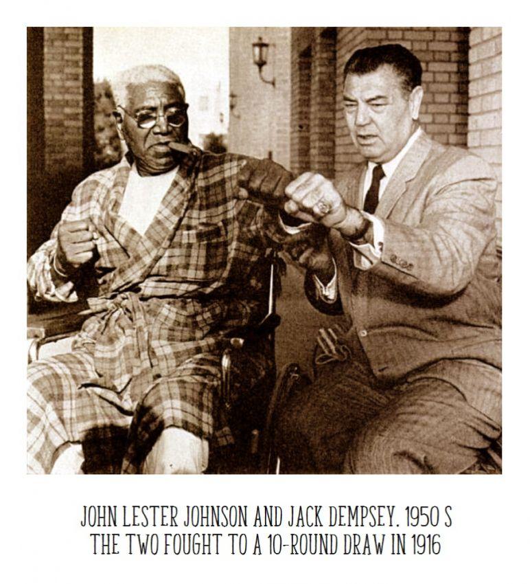 14 июля 1916 года Джек Демпси столкнулся с последним афроамериканским бойцом в своей карьере.