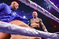 Экс-боец UFC Росс Пирсон оформил нокаут в своем дебюте в боксе