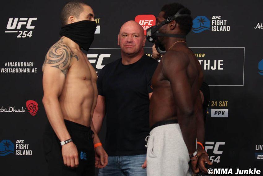 Видео боя Джаред Каннонье - Роберт Уиттакер UFC 254