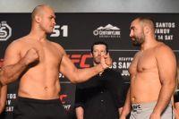 Результаты турнира UFC Fight Night 133: Дос Сантос - Иванов