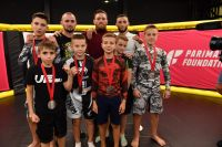 В Киеве прошел турнир по MMA среди детей, который посетил Конор МакГрегор