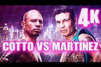 Яркие моменты боя Мигель Котто - Серхио Мартинес в 4K