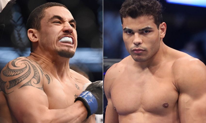 Media: Paulo Costa withdrew from fight against Robert Whittaker due to illness
