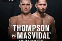 Видео боя Стивен Томпсон - Хорхе Масвидаль UFC 217