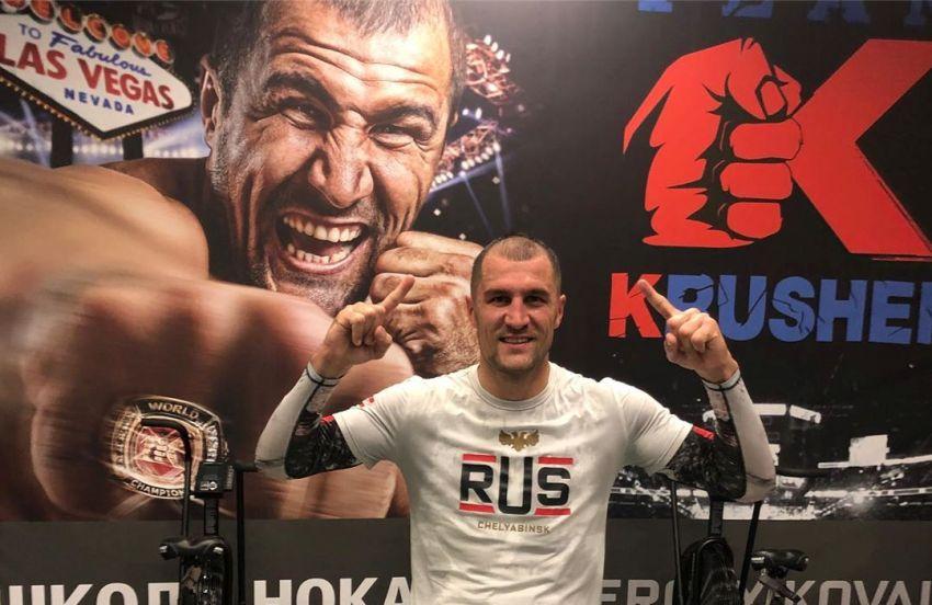 Сергей Ковалев завершил подготовку к поединку против Энтони Ярда