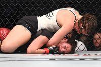 Лиана Джоджуа прокомментировала свое поражение на UFC 242