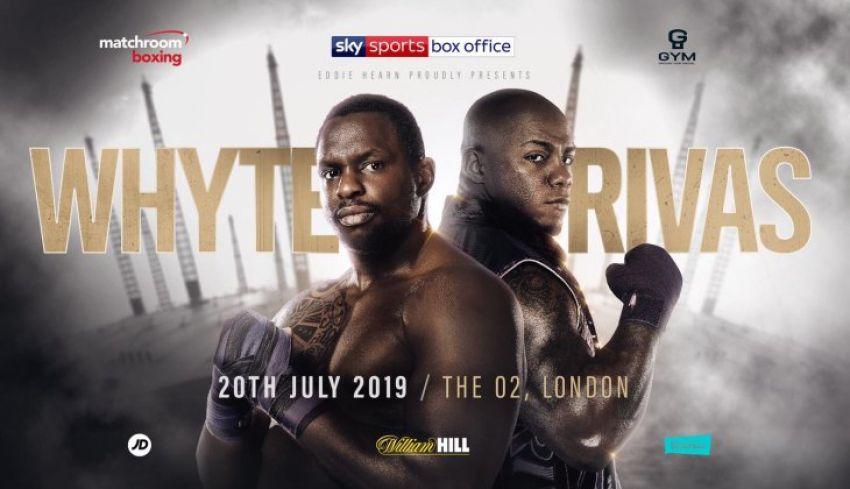 Официально: Диллиан Уайт против Оскара Риваса 20 июля в Лондоне