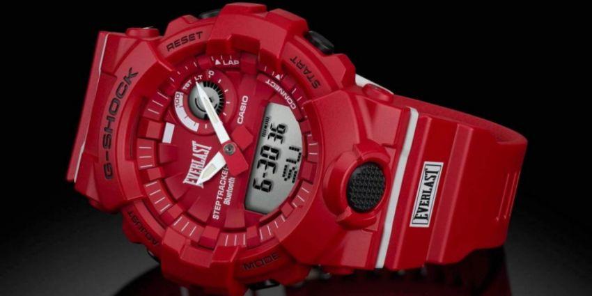 Новая модель фитнес-часов от Casio G-SHOCK и Everlast