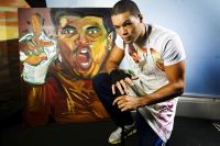 Супертяж Джо Джойс: я мечтаю о выставке собственных картин