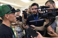 Хуана Франсиско Эстраду встретили, как героя на родине в Мексике