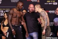 Видео боя Исраэль Адесанья - Марвин Веттори UFC 263