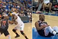 Мейвезера обманным движением отправили на паркет в баскетбольном матче