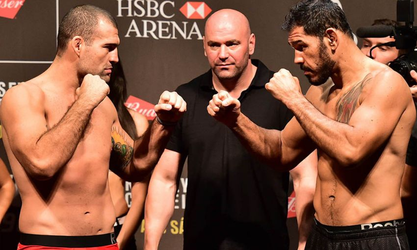 Маурисио Руа и Антонио Рожерио Ногейра завершат трилогию на турнире UFC 250