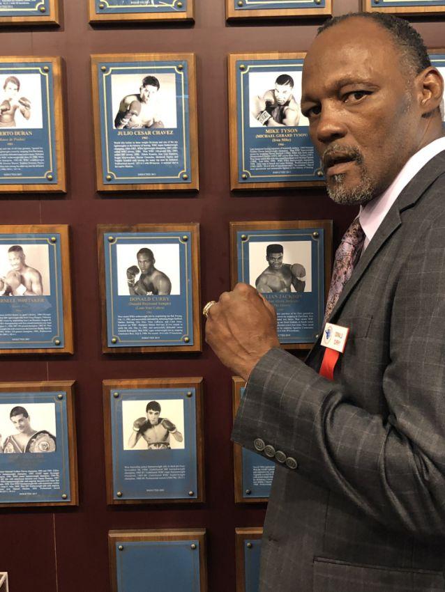 Дональд Карри занял своё законное место в Зале славы бокса