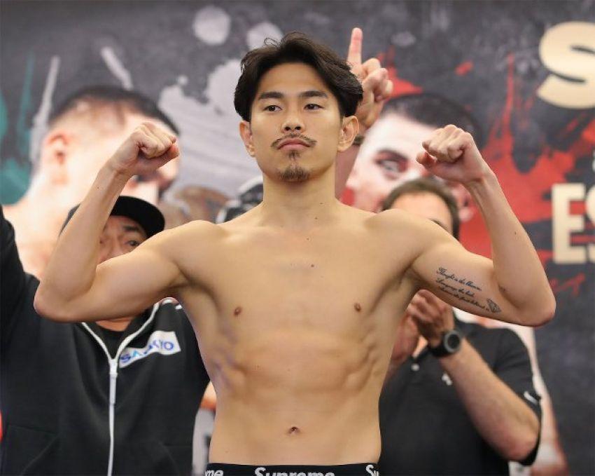 Есть рекорд. Кадзуто Иока стал чемпионом в четырех весах, досрочно победив Астона Паликте