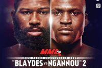Файткард турнира UFC Fight Night 141: Блэйдс - Нганну