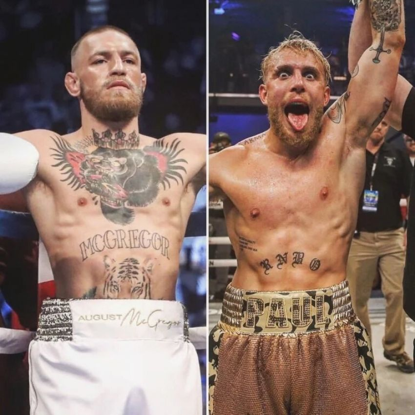 Boxing news: Jake Paul responded to Conor McGregor's comment, saying that he would be happy to enter the ring with McGregor.