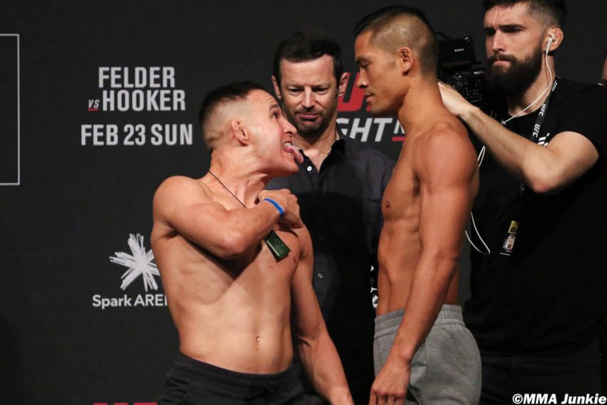 Видео боя Кай Кара-Фрэнс - Тайсон Нэм UFC Fight Night 168