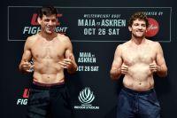Видео боя Бен Аскрен - Демиан Майя UFC Fight Night 162