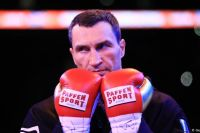Владимир Кличко показал фрагмент своего спарринга: видео