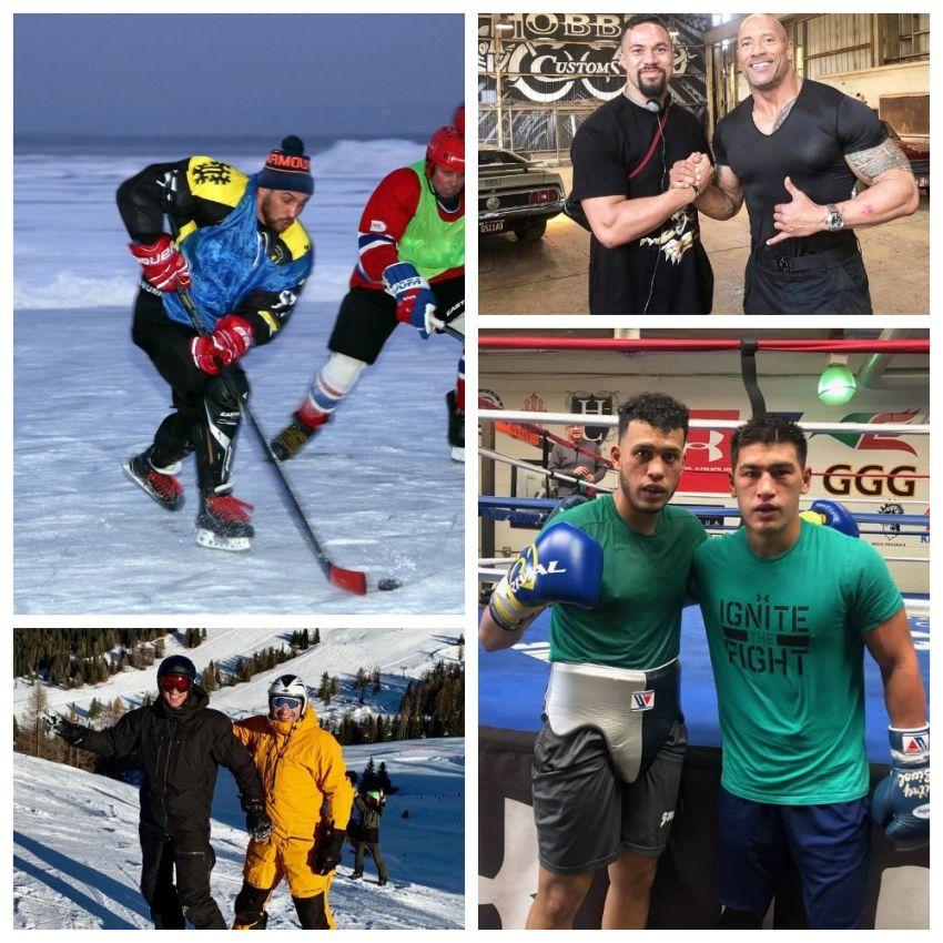 InstaBoxing 29 января 2019: Бивол спаррингует с Бенавидесом, Ломаченко играет в хоккей