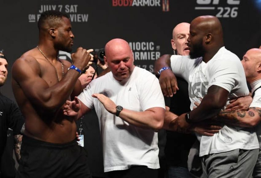 Derrick Lewis explains why he doesn't like Francis Ngannou