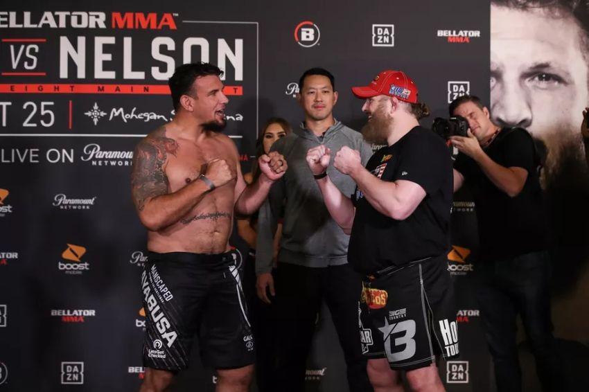 Результаты турнира Bellator 231: Фрэнк Мир - Рой Нельсон 2