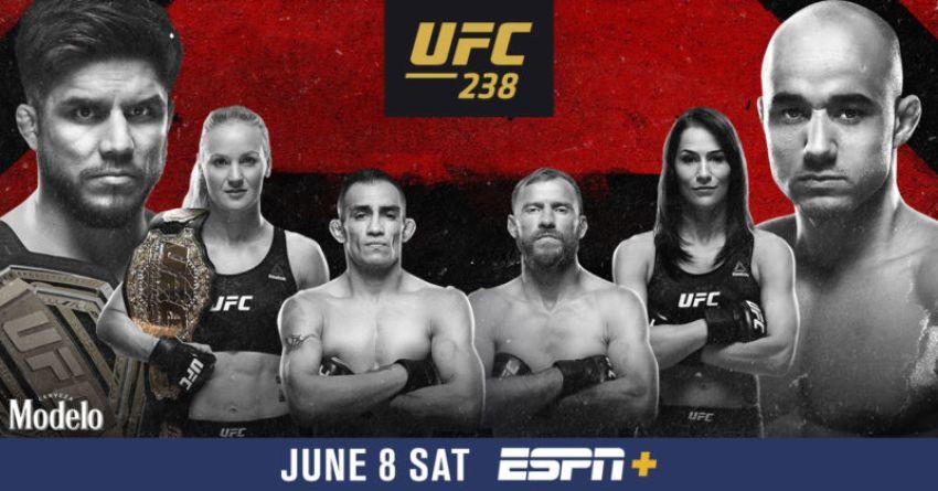 Результаты турнира UFC 238: Генри Сехудо - Марлон Мораес, Валентина Шевченко - Джессика Ай